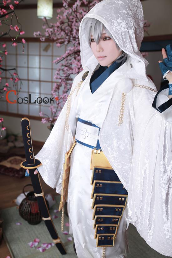 [coslook]刀剣乱舞「鹤丸国永」衣装